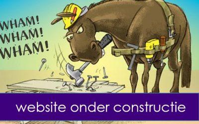 Website onder scrum constructie :-)