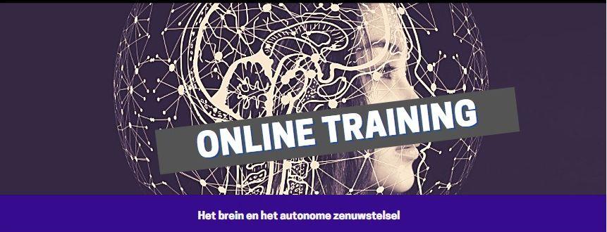 """Online training """"Het menselijk brein en het autonome zenuwstelsel"""""""
